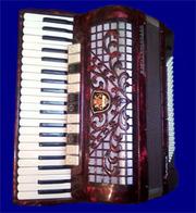 Концертный немецкий аккордеон Royal Standard