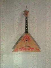 Русский Народный Музыкальный Инструмент: Балалайка
