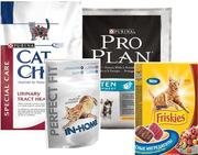 Продам ДЕШЕВО корм Purina (PRO PLAN, Friskies, PERFECT FIT, Cat Chow) из