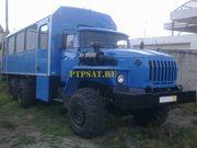 А/М Урал 3255 Вахтовый автобус
