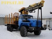 Сортиментовоз на базе Урал 4320-1912-40