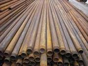 Трубы стальные для заборов (водопровода) толстостенные НКТ 73 - 89