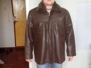 Абсолютно новая кожаная куртка осень зима из Греции