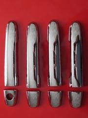 Накладки на ручки дверей хром Toyota