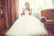 Продам свадебное платье в хорошем состоянии одевала 1 раз на свадьбу.