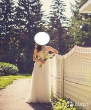 Свадебное оригинальное платье Sherri Hill