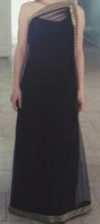 Выпускное платье,  в греческом стиле.