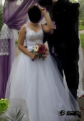 Продам шикарное свадебное платья