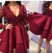 Продам платье цвета марсала