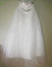 свадебное платье б/у большой размер