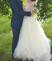 Продам свадебное платье от модного дизайнера Анна Дэн